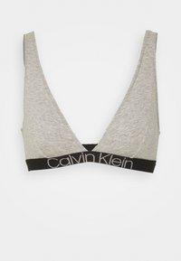 Calvin Klein Underwear - UNLINED TRIANGLE - Sujetador sin aros - grey heather - 4