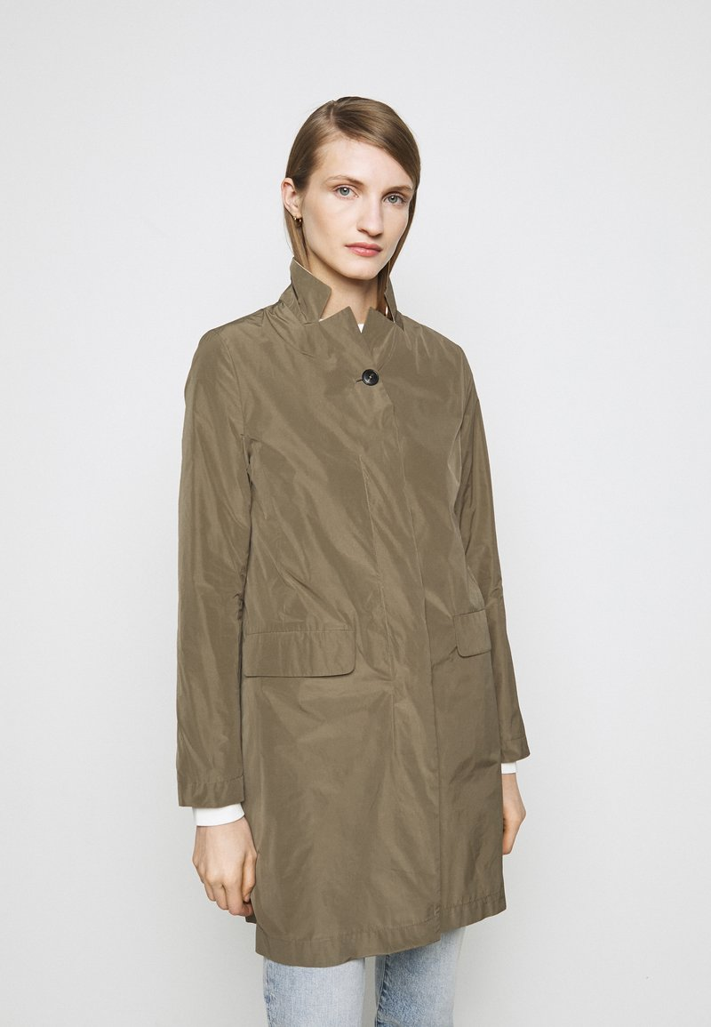 CLOSED - PURE PORI CLASSIC COAT - Classic coat - green umber
