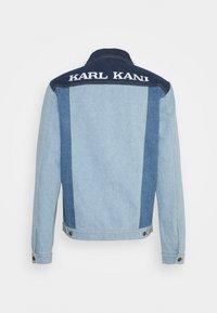 Karl Kani - RINSE BLOCK TRUCKER JACKET - Denim jacket - blue - 1