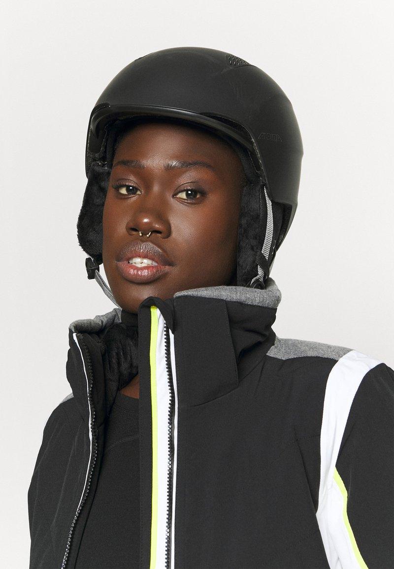 Alpina - Helmet - black matt