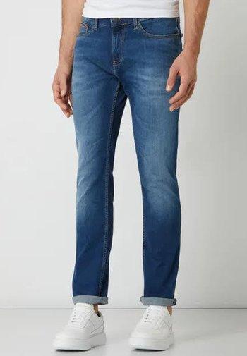 SCANTON SLIM WMBS - Slim fit -farkut - wilson mid blue stretch