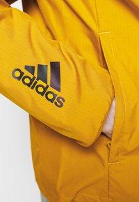 adidas Performance - ATHLETICS TECH PRIMEBLUE SPORTS JACKET - Veste de survêtement - legacy gold/black - 5