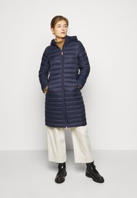 Save the duck - GIGAY - Winter coat - blue black - 0