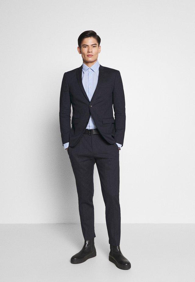 MATTE MIX - Suit - dark blue