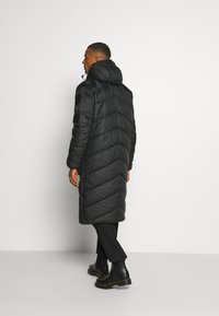 G-Star - UTILITY QUILTED EXTRA LONG PARKA - Winter coat - namic lite black - 2