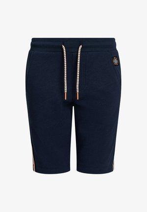 MET TAPEDETAIL - Shorts - dark blue