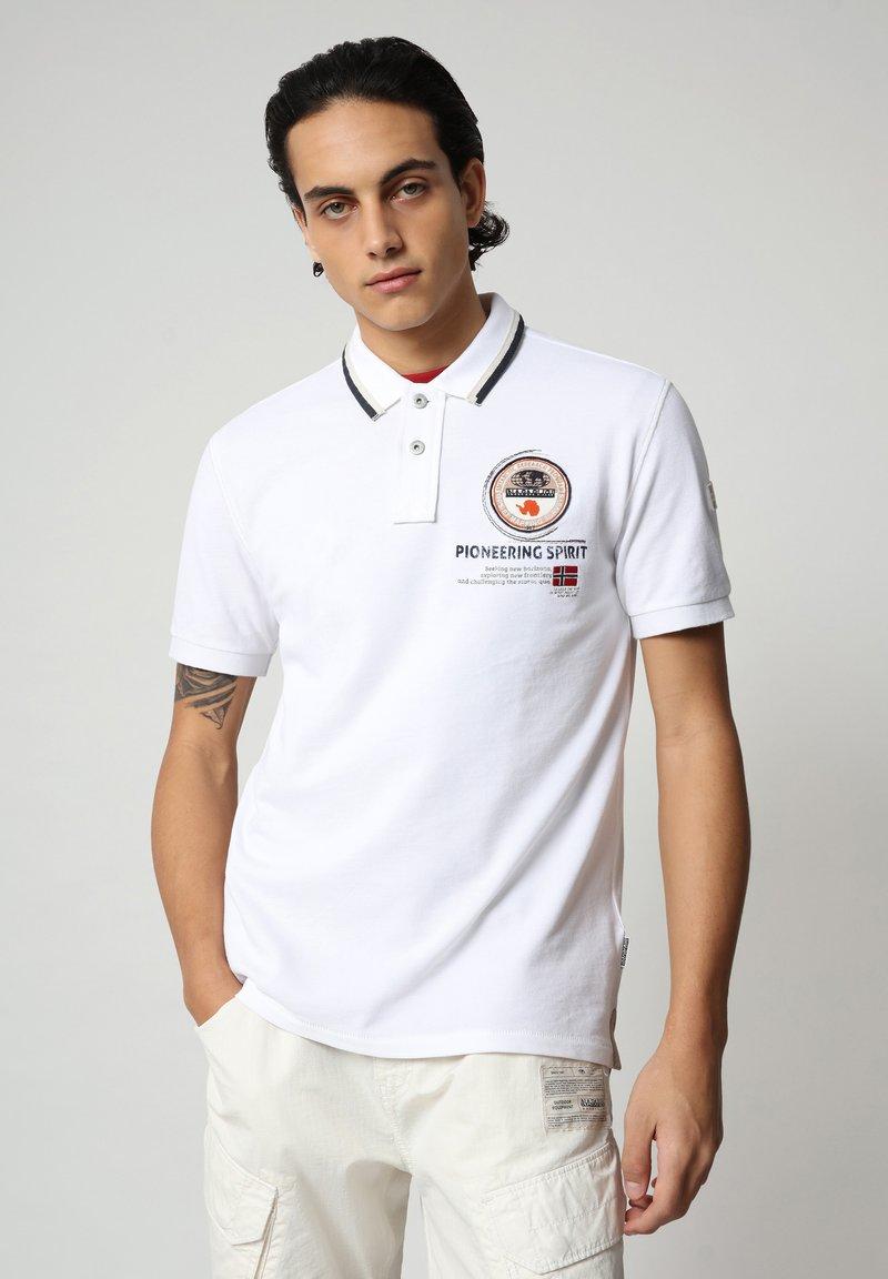 Napapijri - GANDY - Polo shirt - bright white