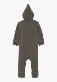 Müsli by GREEN COTTON - SUIT WITH HOOD BABY - Jumpsuit - walnut - 1