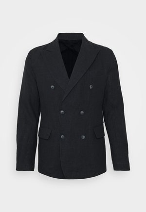 COOTON DECONSTRUCTED BLAZER - Blazer jacket - dark navy