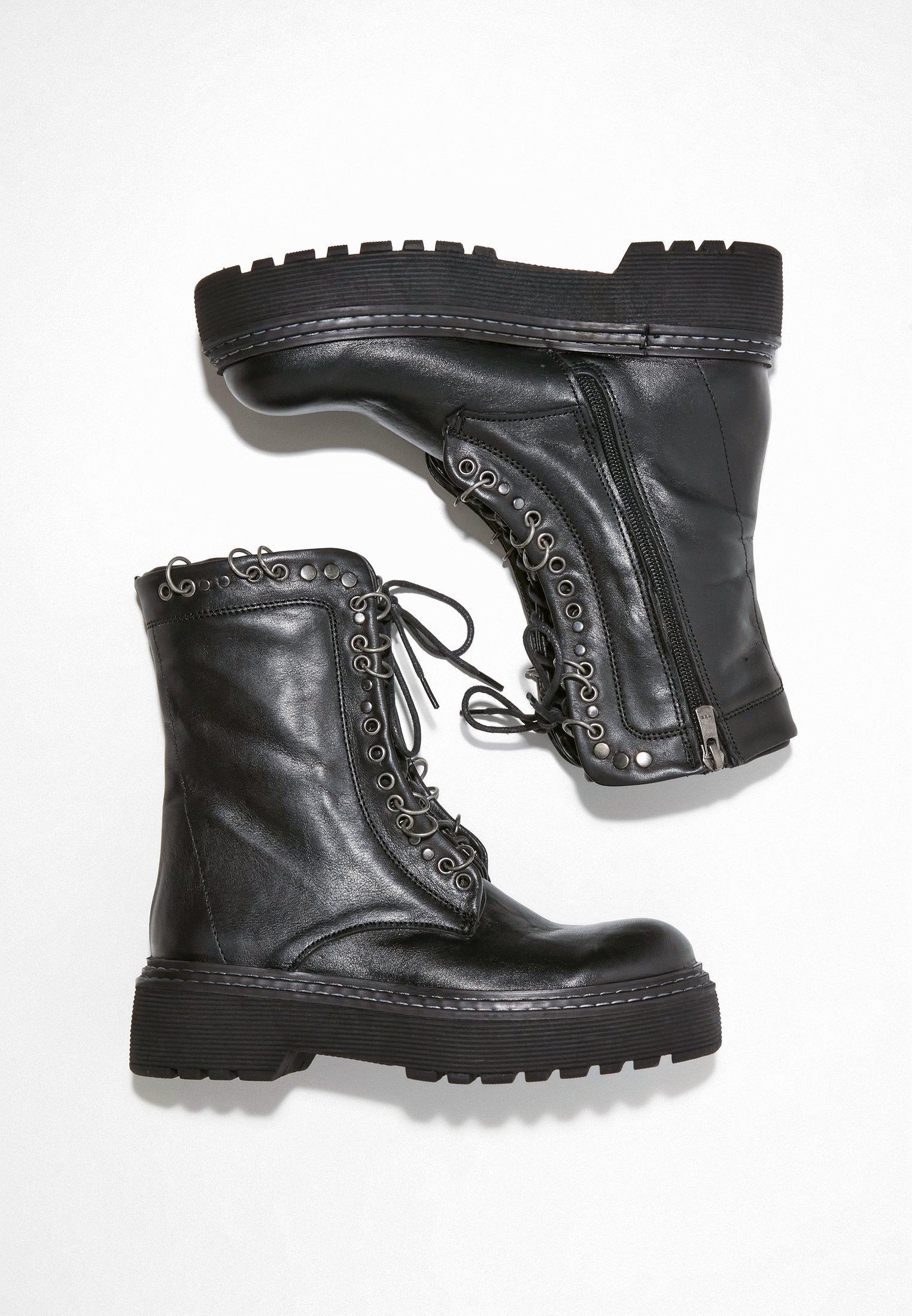 Inuovo Schnürstiefelette black/schwarz