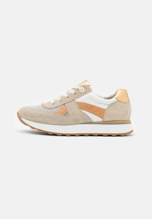 Trainers - biscuit/oro