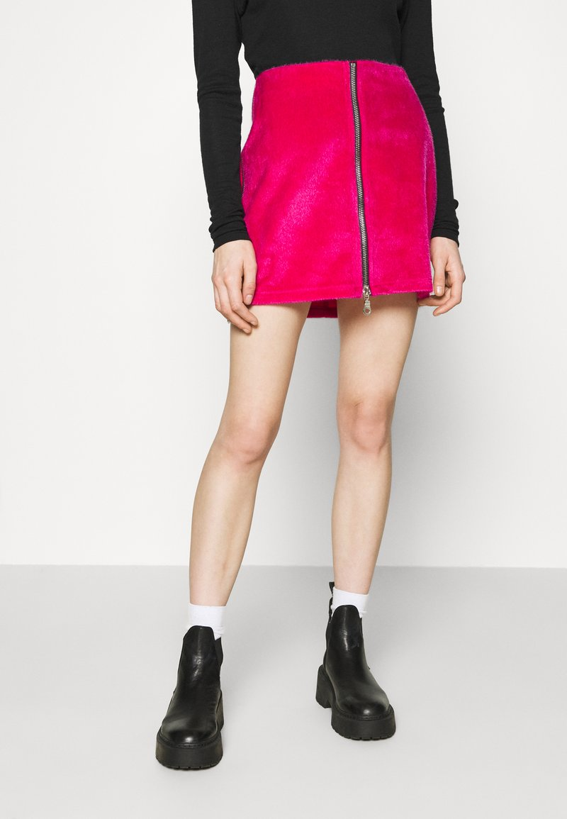 The Ragged Priest - HOAX SKIRT - Mini skirt - pink