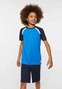 WE Fashion - WE FASHION JUNGEN-SPORTSHIRT - Print T-shirt - blue - 0