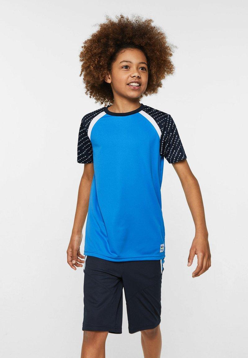 WE Fashion - WE FASHION JUNGEN-SPORTSHIRT - Print T-shirt - blue