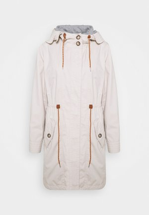 WASHED - Parka - cream beige