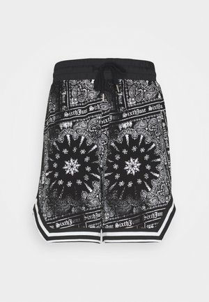 BANDANA TROPICAL - Shorts - black