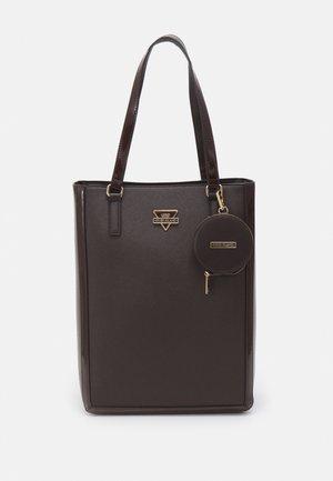 SET - Handbag - brown dark
