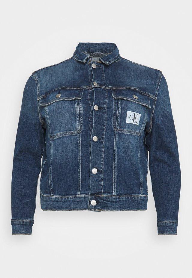 90'S JACKET - Denim jacket - denim dark