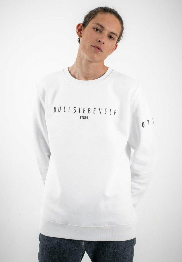 STUTTGART - Sweatshirt - white