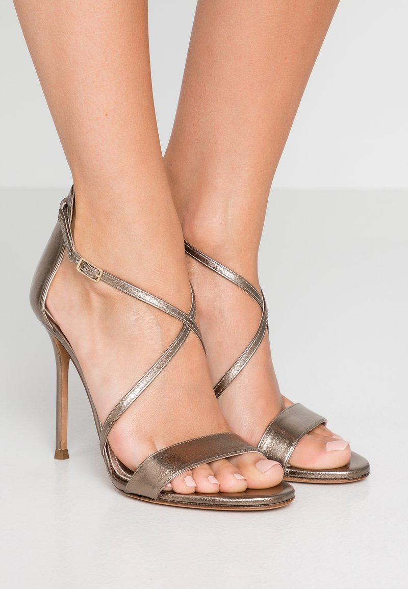 Pura Lopez - High heeled sandals - alba