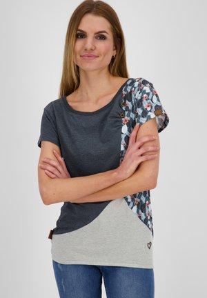 ZOEAK - Print T-shirt - marine