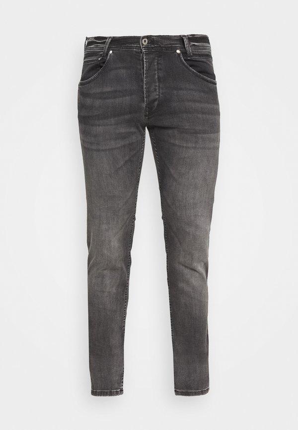 Pepe Jeans SPIKE - Jeansy Straight Leg - grey denim/szary denim Odzież Męska CGVS