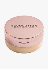 Make up Revolution - CONCEAL & FIX SETTING POWDER - Setting spray & powder - medium yellow - 0