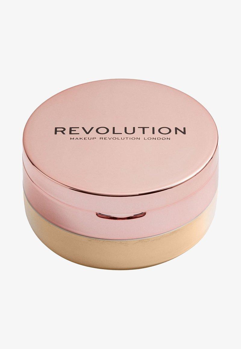Make up Revolution - CONCEAL & FIX SETTING POWDER - Setting spray & powder - medium yellow