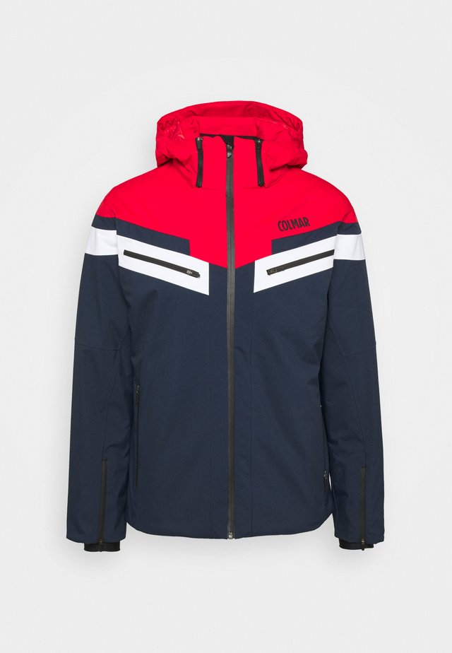 Veste de ski - blue/black/bright red