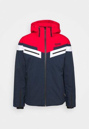 Lyžařská bunda - blue/black/bright red