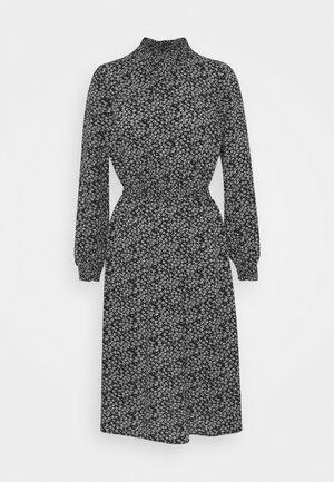 ONLNOVA LUX SMOCK BELOW KNEE DRESS - Hverdagskjoler - black