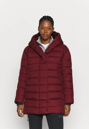 CARIN  - Winter coat - velvet red
