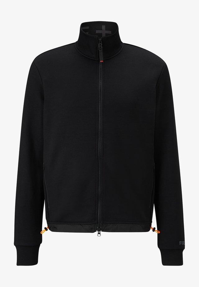ALESSIO - Zip-up hoodie - schwarz