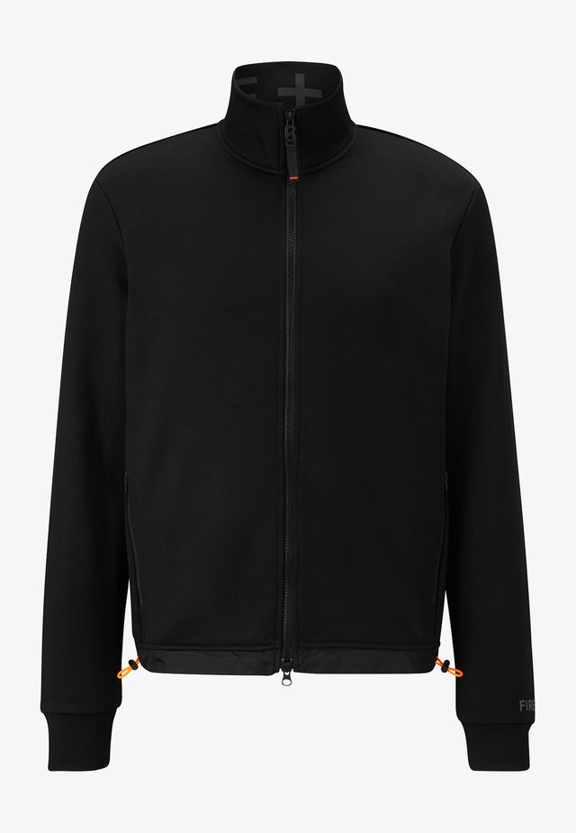 ALESSIO - veste en sweat zippée - schwarz