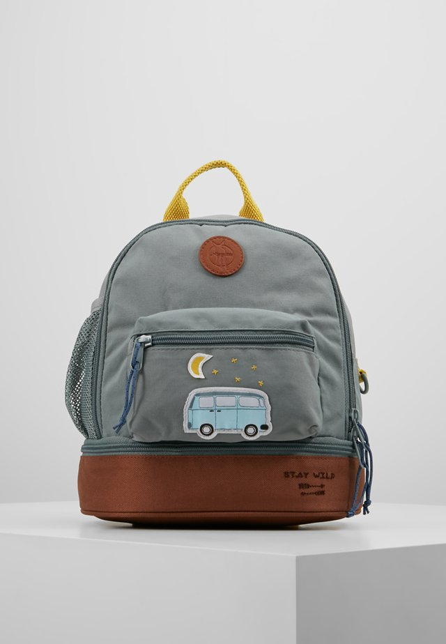 MINI BACKPACK ADVENTURE BUS - Ryggsekk - cognac/olive