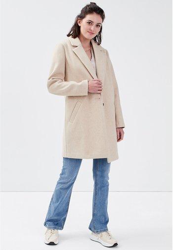 GEKNÖPFTER - Classic coat - sable