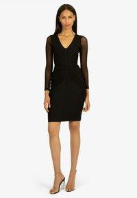 Apart - Shift dress - schwarz - 0