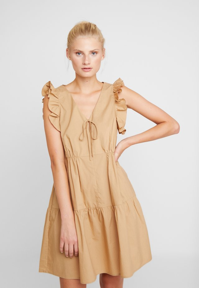 ECLIPSE DRESS - Vestito estivo - khaki
