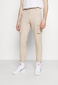 Newport Bay Sailing Club - PANT - Cargo trousers - stone - 0