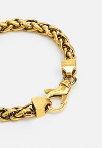 Guess - NARROW WHEAT WIRE CHAIN UNISEX - Armbånd - antique gold-coloured - 1