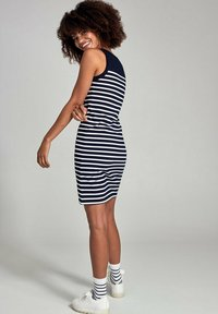 Armor lux - BELLE-ILE - Jersey dress - rich navy/blanc - 2