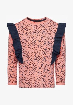 BORAMA - T-shirt à manches longues - coral almond