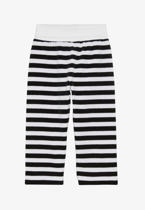 STRIPE BABY - Trousers - black iris