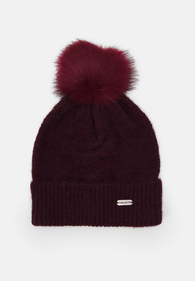 SAMANTHA HAT - Beanie - bordeaux