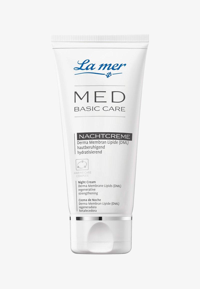 La mer - NACHTCREME MED BASIC CARE NACHTCREME - Night care - -