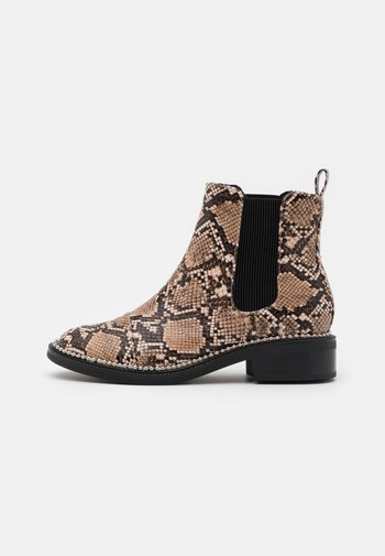 APPLE - Classic ankle boots - brown