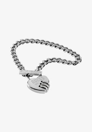 LOCK ME UP - Bracelet - silber