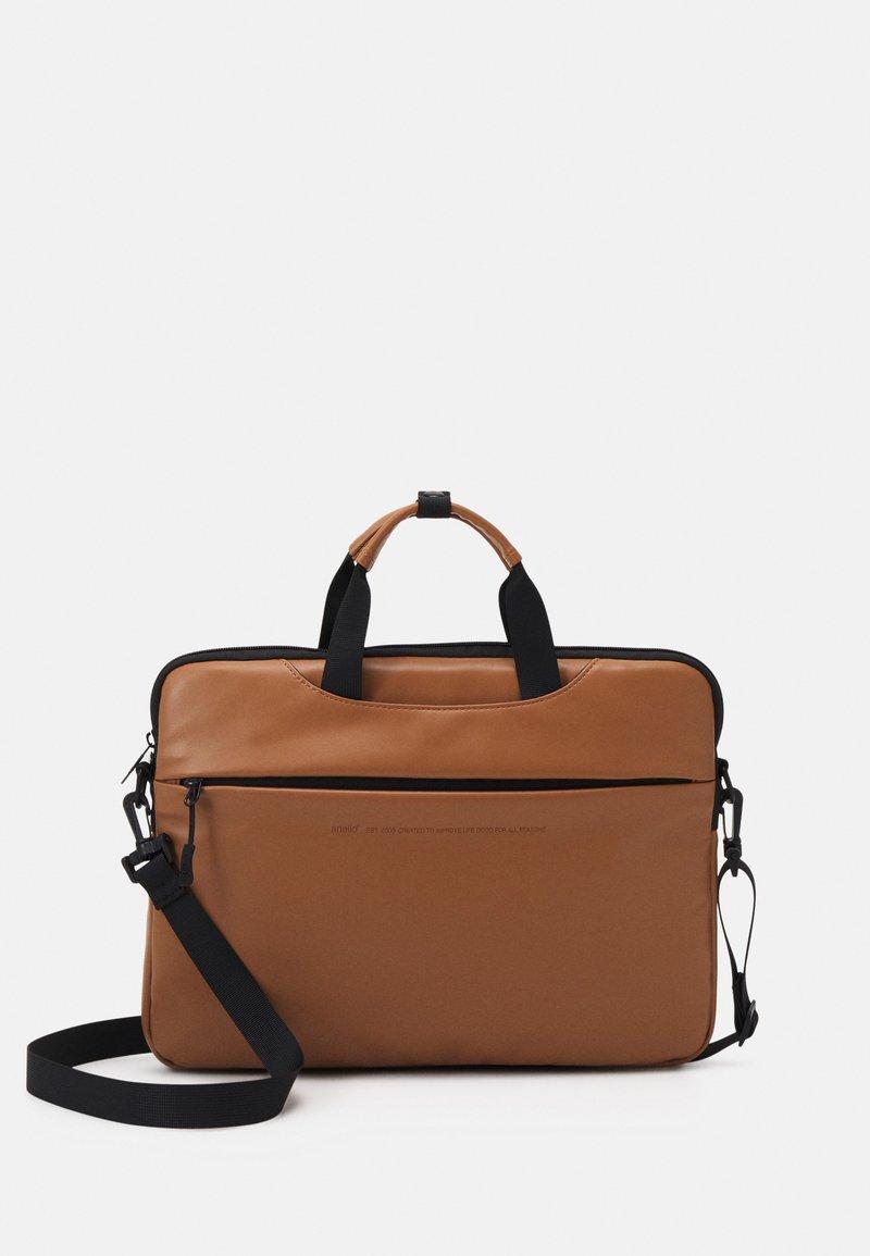 anello - BUSINESS BAG UNISEX - Borsa porta PC - tan