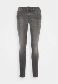 Diesel - SLANDY-LOW-ZIP - Jeans Skinny Fit - grey - 5