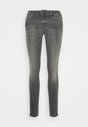 SLANDY-LOW-ZIP - Skinny džíny - grey
